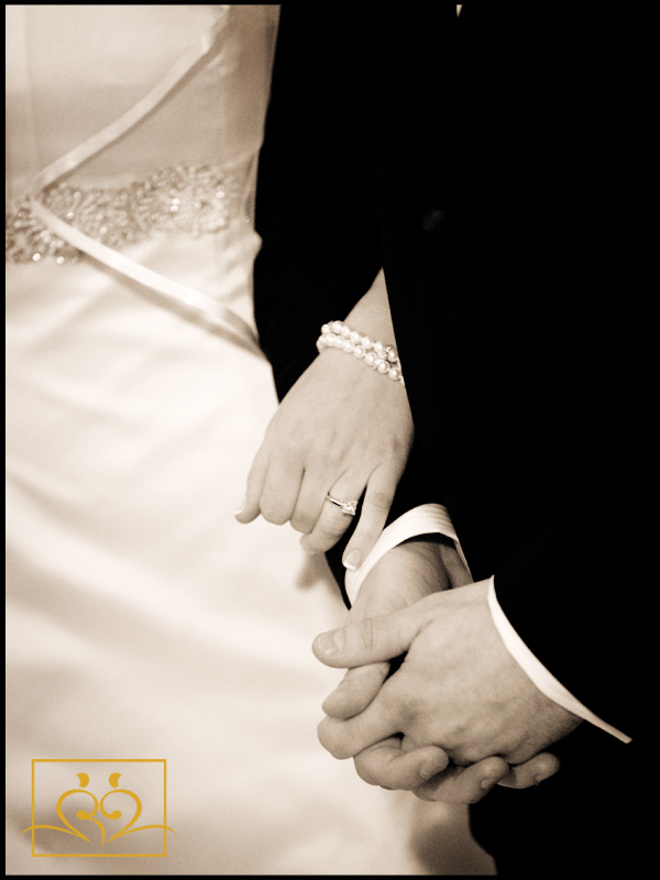 I love to capture details, especially hands as they communicate love.
