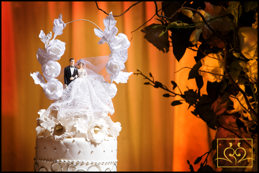 A Grandmother's cake topper...something borrowed?