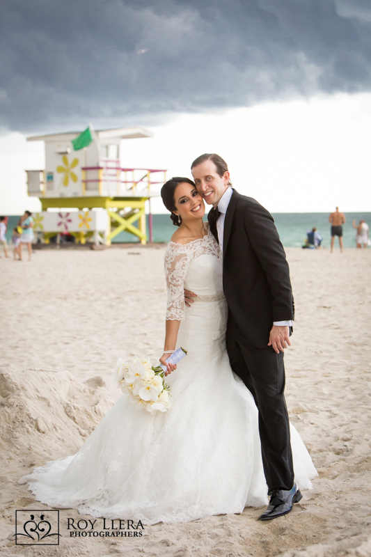 Wedding Portrait on Miami Beach