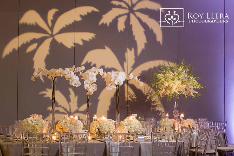 university of miami wedding decor