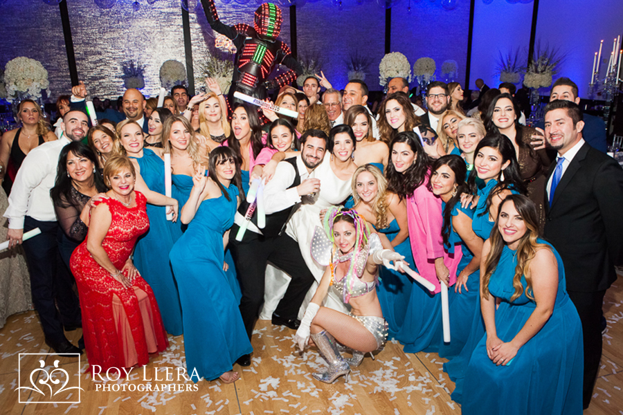 Epic Hotel Miami Wedding Reception
