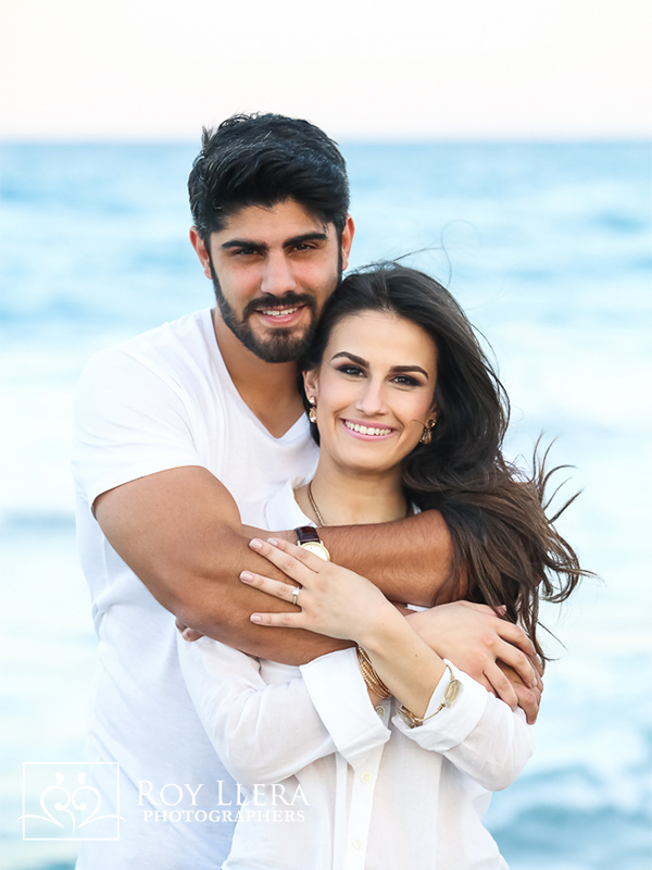miami engagement beach session photographer