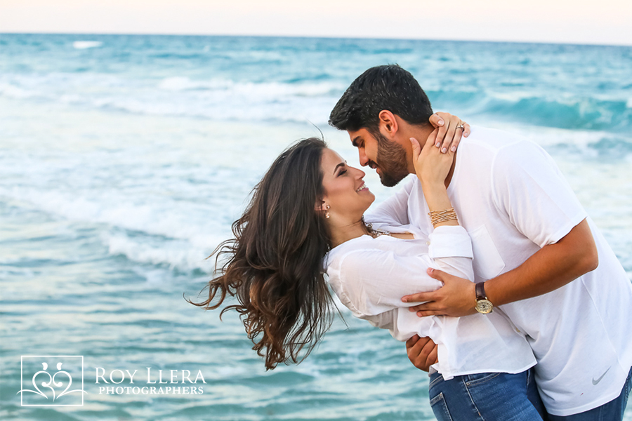 miami south florida beach wedding engagement photography