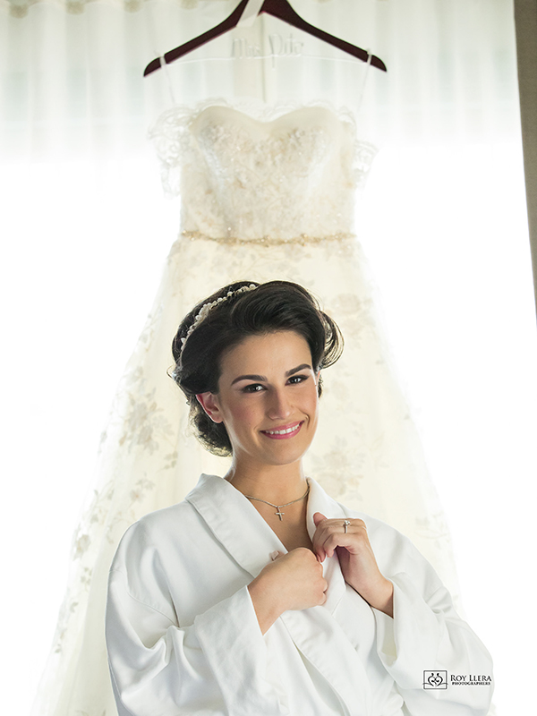Coral Gables Hotel Colonnade Bride getting ready