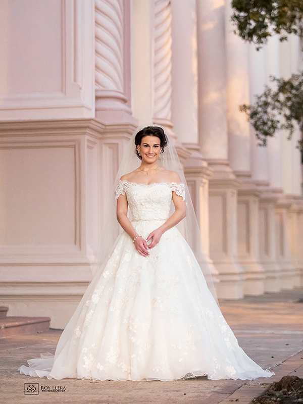 Hotel Colonnade Bridal Portrait