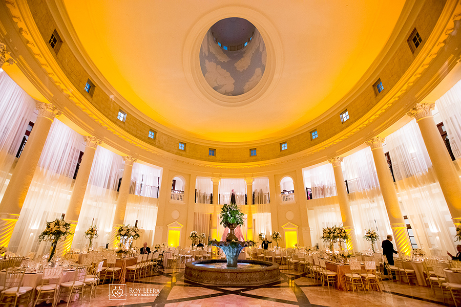 Hotel Colonnade Coral Gables Wedding Rotunda Ballroom