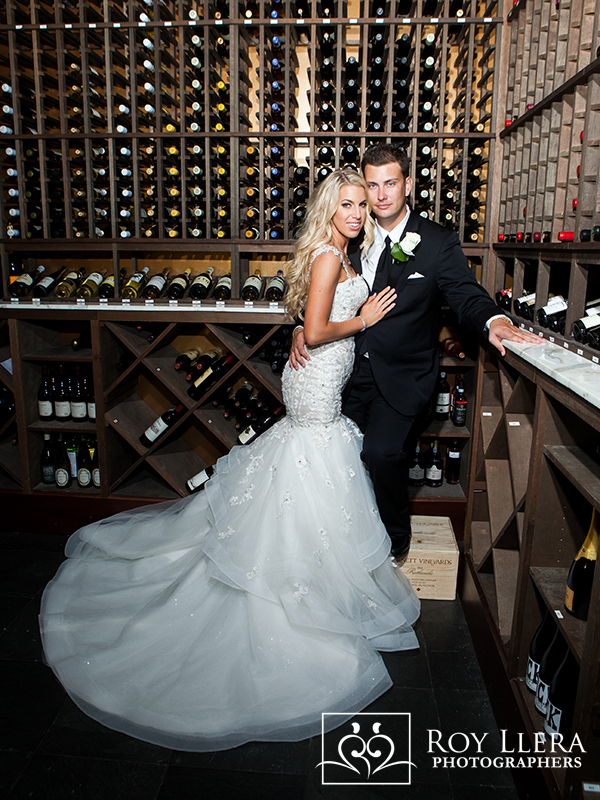 Ft Laudedale Ritz Carlton wine cellar wedding
