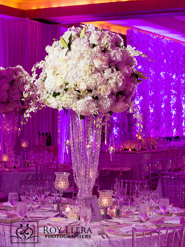 ft lauderdale ritz carlton wedding decor flowers